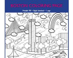 coloring pages boston tea party tags boston coloring pages
