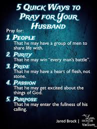 5 ways to pray for your husband relationships married