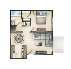 450 Sq Ft Studio by Governeour Manor Apartments Builder U0027s Inc
