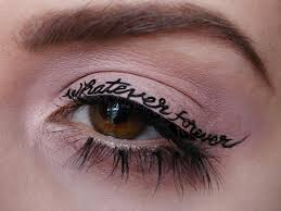 eyeliner tattoo images temporary tattoo eyeliner is now a thing and we re obsessed