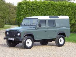 green station wagon used land rover defender 110 suv 2 2 d utility station wagon 5dr