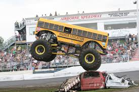 monster bus mark traffic