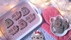 pusheen christmas ornament cookies youtube