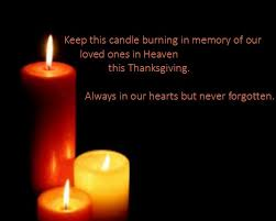 image result for thanksgiving blessing remembering loved ones