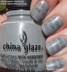 how to do newspaper nail art with water water nail polish design