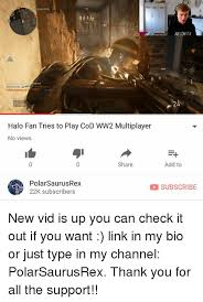 Playing Cod Text Memes Com - bookstore 50 mights halo fan tries to play cod ww2 multiplayer no