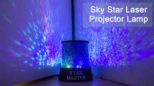 amazing sky star laser projector lamp starry night light