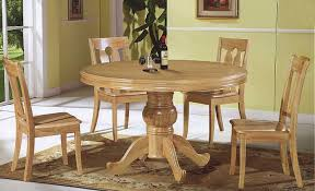 round wooden kitchen table and chairs interior glamorous solid wood round dining table 14 and chairs