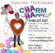 singing telegrams los angeles ca charmandhappy valentines day singing telegrams los angeles socal