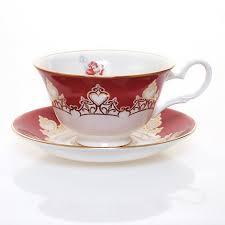 co bone china disney princess tea cups