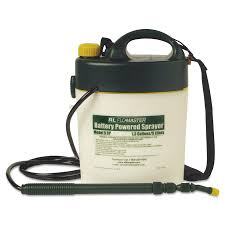 r l flomaster portable battery powered sprayer w telescoping
