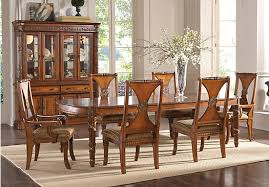 Reasonable Dining Room Sets by Champlain Pecan 5 Pc Dining Room 1 099 99 Find Affordable