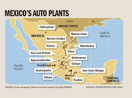 map usa detroit mexico economy minister is in detroit to meet with ford and gm