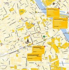 Walking Map Of New York City by Free Tours In Warsaw Free Walking Tour
