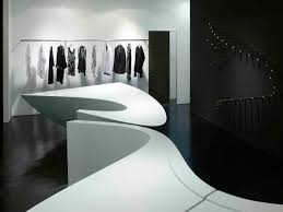shop in shop interior gallery of neil barrett u0027shop in shop u0027 zaha hadid architects 12