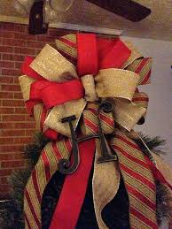 big christmas bows burlap bows for christmas tree bazaraurorita