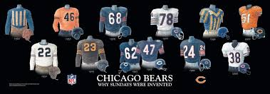 heritage uniforms and jerseys chicago bears uniform and team history heritage uniforms and jerseys