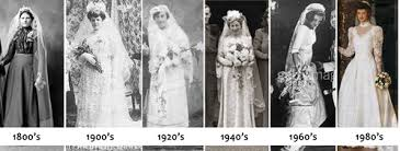 history of the wedding dress wedding thoughts a history of wedding dresses