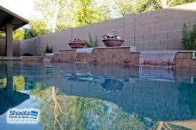 remodeling ideas for modern pool designs shasta pools u0026 spas