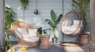 canapé rotin maison du monde ikea alinéa maisons du monde salon de jardin nouveautés 2016