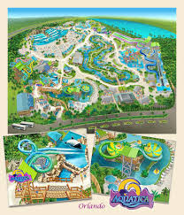Seaworld Orlando Park Map by Map A Park