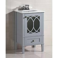 madison pure white 24 inch single sink bathroom vanity water 21