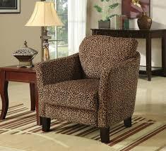 leopard print accent chair design