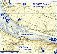 map of lancaster county pa yorkspast billmeyer lancaster county named by in