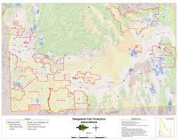 Idaho Fires Map Idaho Department Of Lands