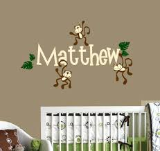 Wall Name Decals For Nursery by Wall Ideas Personalized Wall Art Personalized Wall Art Baby Boy