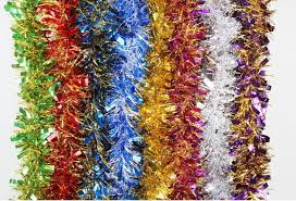 Buy Christmas Decorations Online by Christmas Tinsel Garland Decorations Online Christmas Tinsel