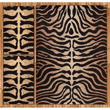 well woven royal court 3 piece black brown area rug set u0026 reviews