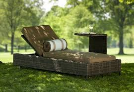 exclusive all weather wicker patio chaise lounges by open air