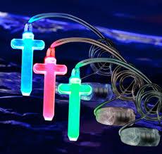 led cross necklace light up cross light up necklace