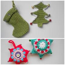crochet christmas decorations cutesy crochet u0026 crafts
