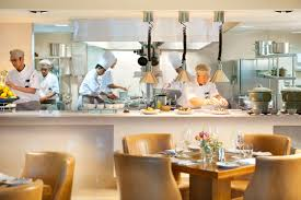 kitchen endearing restaurant open kitchen interior design of