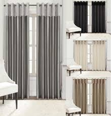 Black Curtains 90 X 54 Plush
