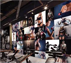 Gym Wall Murals Popular Gym Wall Murals Buy Cheap Gym Wall Murals Lots From China