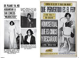imagenes de notas rojas mujercitos una revisión sobre la homofobia ciudadania express