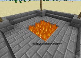 the fire pit how to build a safe fire pit flames will not spread minecraft blog