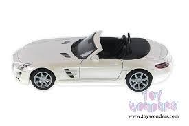 mercedes sls amg convertible mercedes sls amg roadster top 34272 1 24 scale showcasts