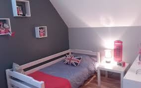 couleur mur chambre ado gar n couleur deco decoration fille adolescent une coucher dado murale pas