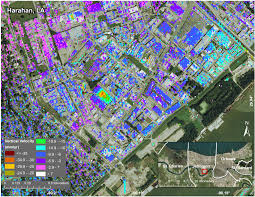 Restaurant Map New Orleans by New Study Maps Rate Of New Orleans Sinking Nasa
