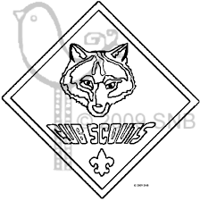 cub scouts wolf cub scouts coloring pages scouts pinterest