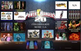 Power Rangers Meme - my power rangers controversy meme by thetrainmrmenponyfan on