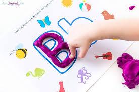 printable alphabet mat alphabet playdough mats letters alphabet letter play dough mats