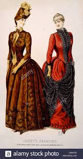 godey s fashions women s fashions from godey s s book circa early 1880s
