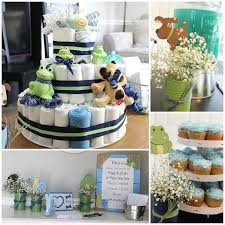 frog themed baby shower frogs snails and puppy dog tails baby shower the inspired hive