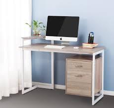 Walmart Furniture Computer Desk Shelf Small Corner Computer Desk With Printer Shelf Oak Walmart