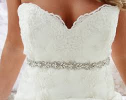 wedding dress sash etsy